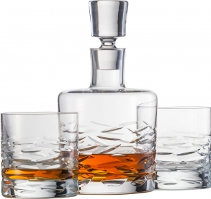 SCHOTT ZWIESEL BASIC BAR SURFING -  Zestaw 3 el.  do Whisky 750 ML
